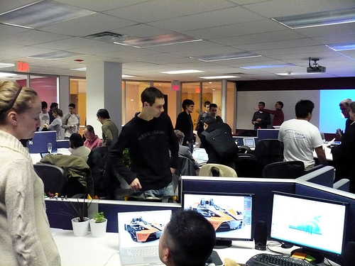 TSOT's Ruby on Rails Night Premiers in the new Bloor St. office
