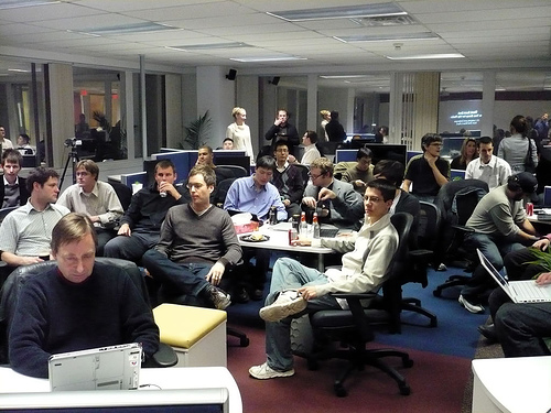 Toronto's Tech Elite Gather at TSOT's Ruby on Rails Project Night